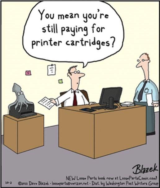never buy ink again